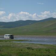 Mitten in der Mongolei